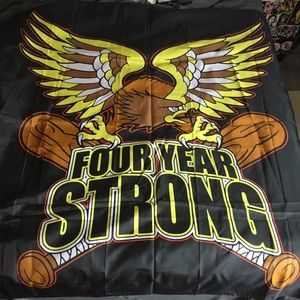 Other - Four Year Strong band AMERICA banner